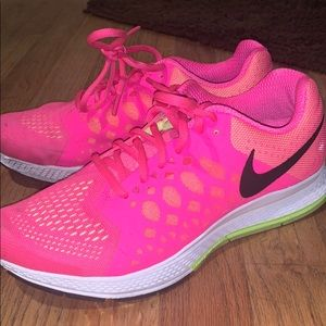 Hot Pink Nike Sneaker